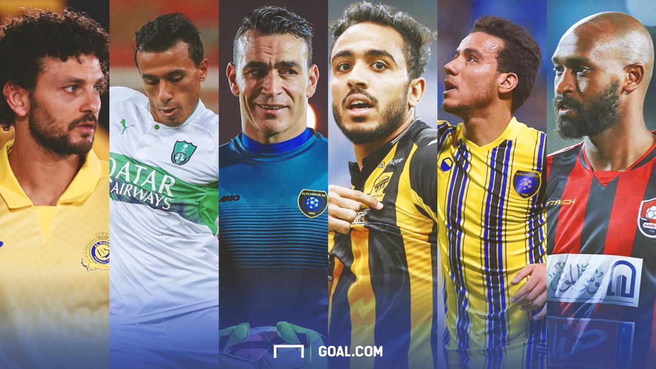 المحترفين المصريين في الدوري السعودي