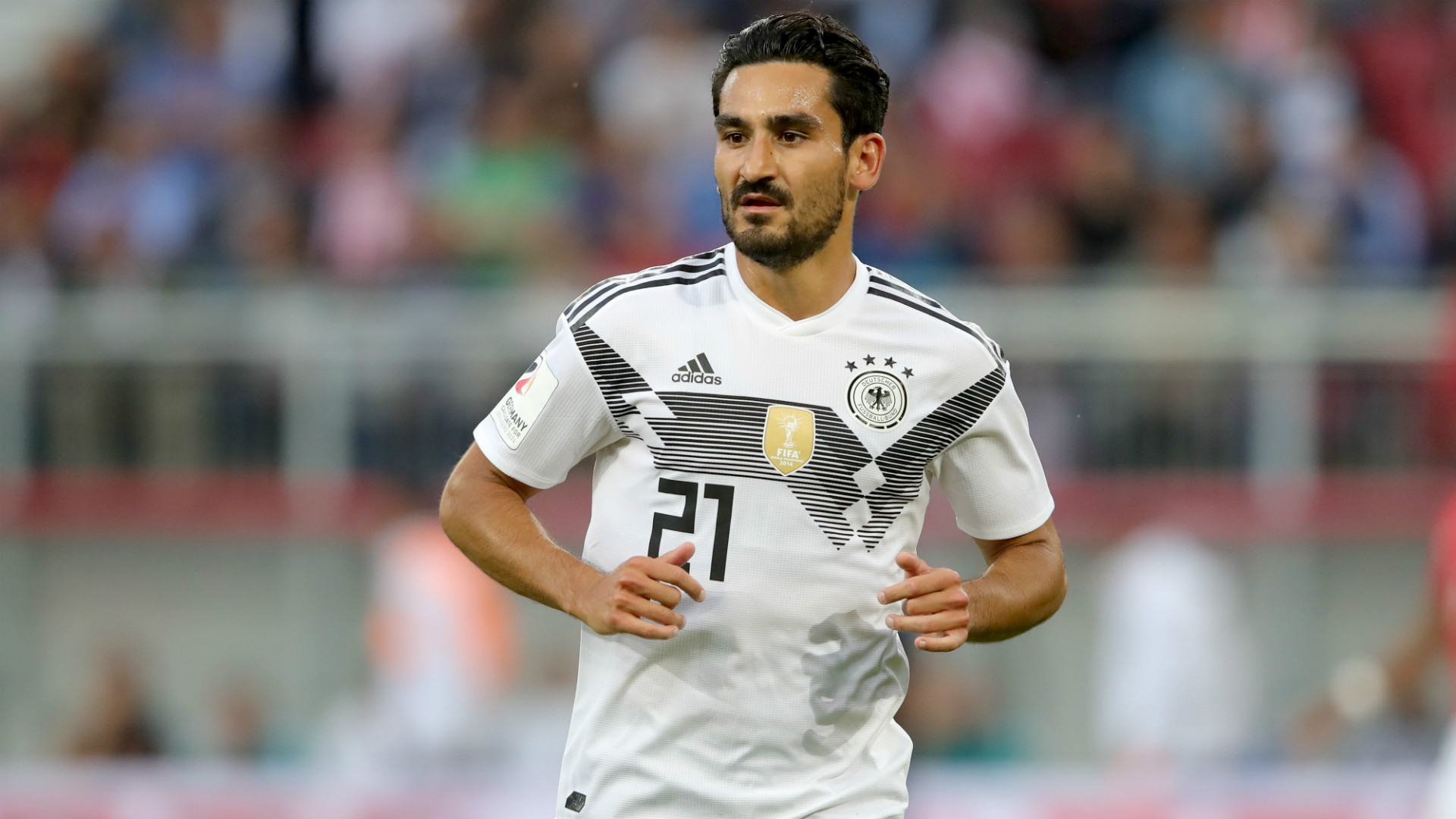 Ilkay Gundogan Germany training