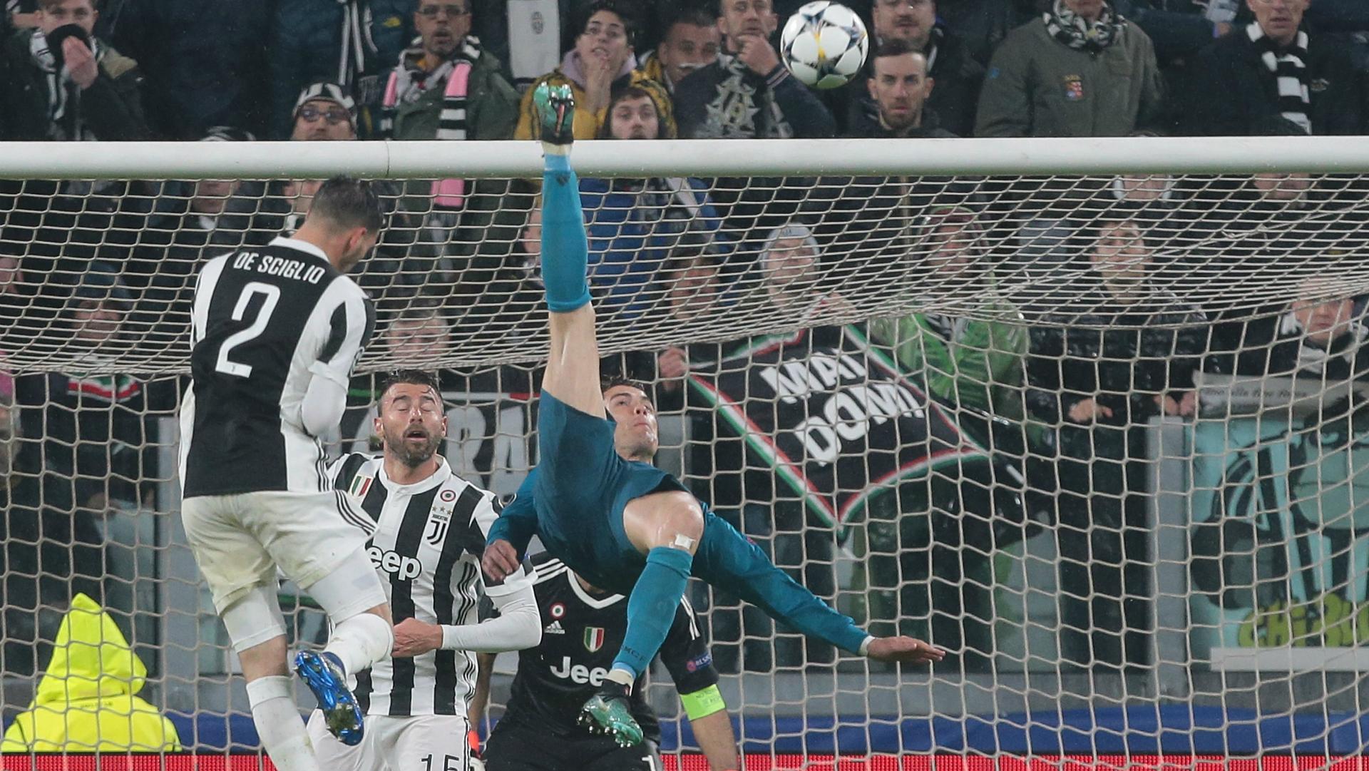 Cristiano Ronaldo Real madrid Juventus 03042018
