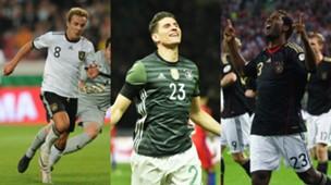 collage Germany best Scorers Friendlies