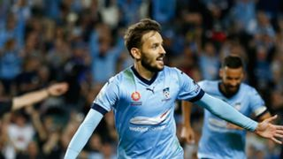 Milos Ninkovic Sydney FC v Newcastle Jets A-League 15042017