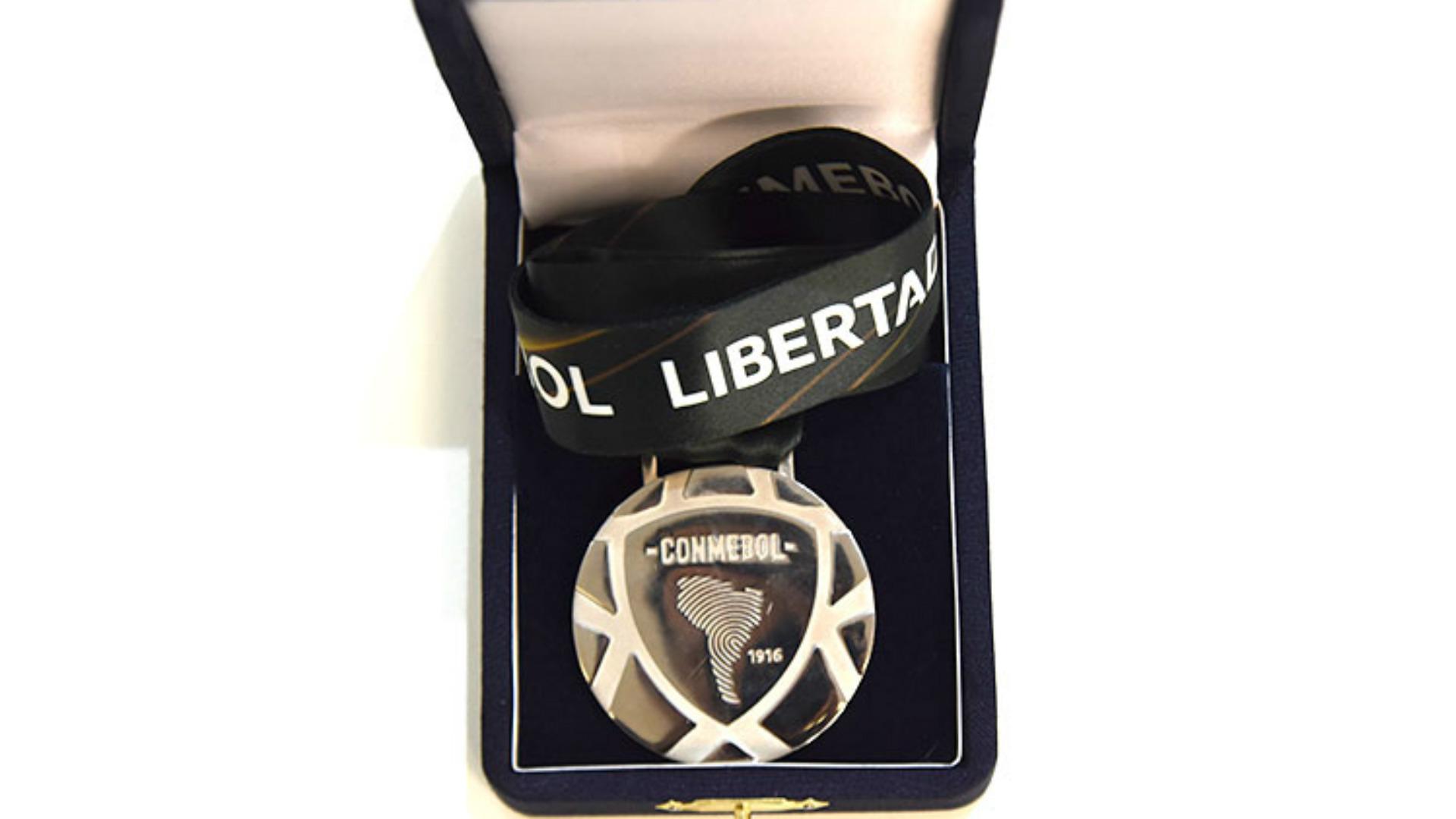 Medalla Plateada Copa Libertadores 2018