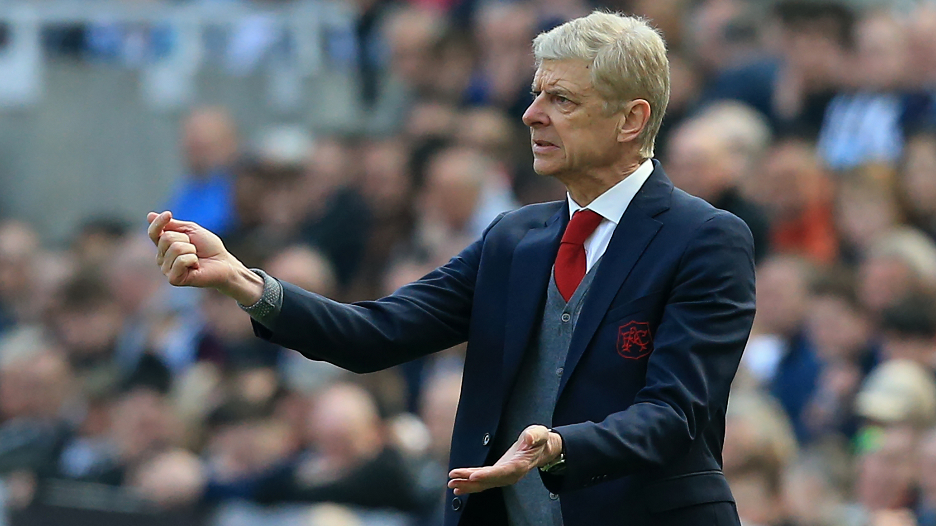 Arsene Wenger Arsenal Newcastle