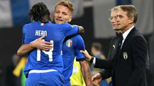 Moise Kean Ciro Immobile Italy Euro qualifying 2019