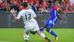 Dimitri Oberlin Benfica Basel