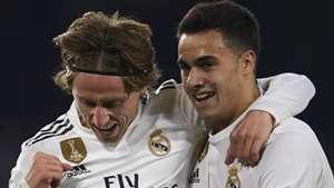 Luka Modric Lucas Vazquez Real Madrid