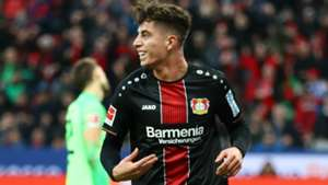KAI HAVERTZ BAYER LEVERKUSEN GERMAN BUNDESLIGA 22122018
