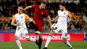 Edin Dzeko Roma Shakhtar Donetsk UCL