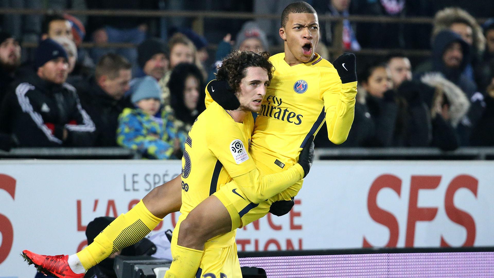 Quatre absents contre Caen — PSG