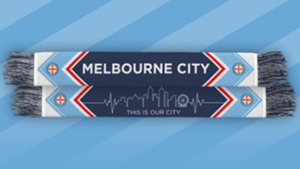 Melbourne City scarf