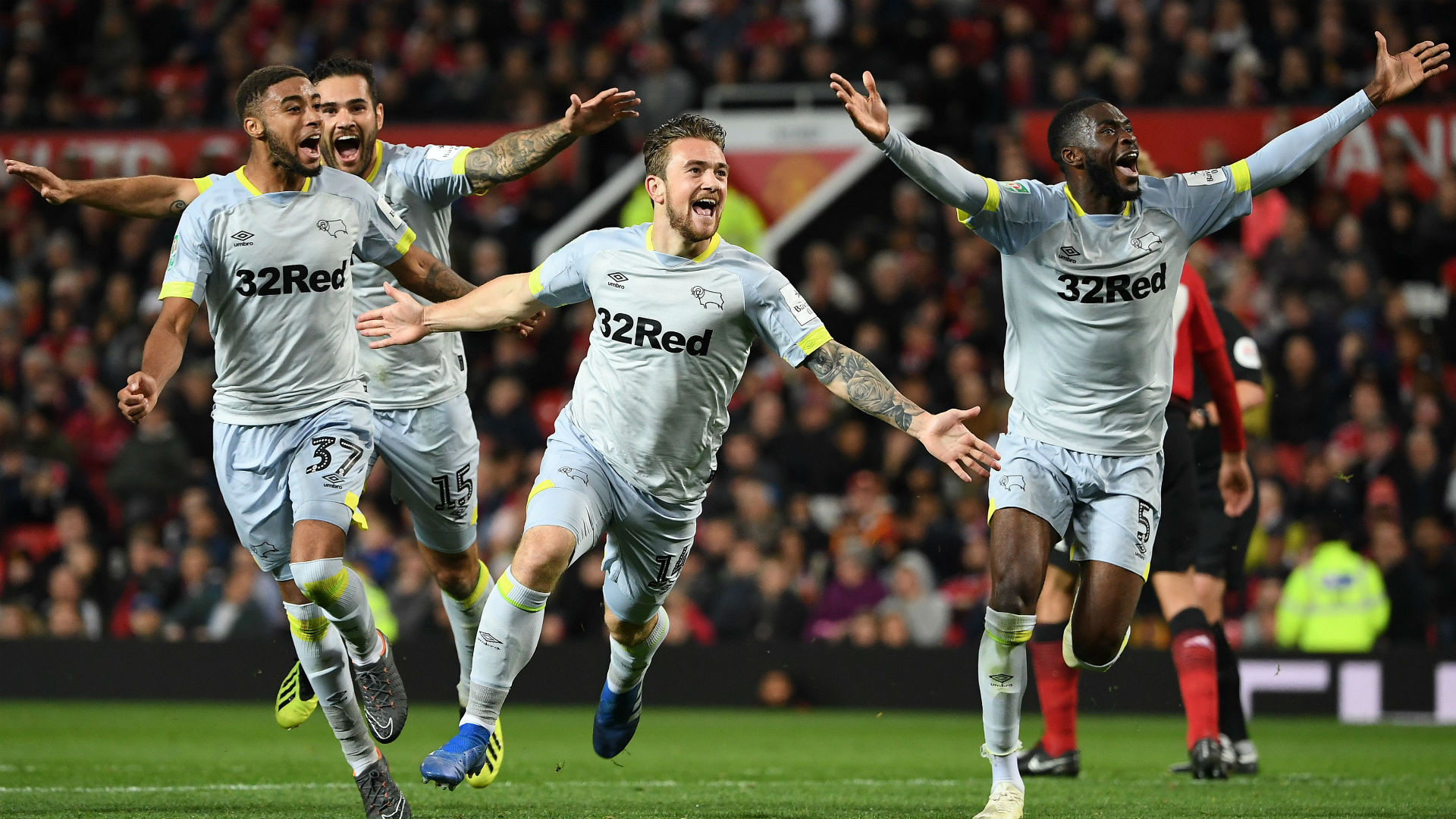 Jack Marriott Derby County Manchester United League Cup 25092018