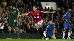 Javier Hernandez Manchester United Chelsea Premier League