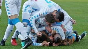 Napoli celebrating Napoli Torino Serie A