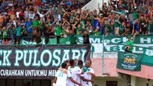 Selebrasi PSMS Medan