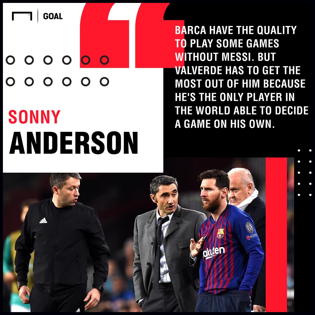 Lionel Messi Sonny Anderson Barcelona PS