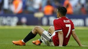 Alexis Sanchez Manchester United FA Cup