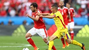 Admir Mehmedi Gabriel Torje Switzerland Romania Euro 2016