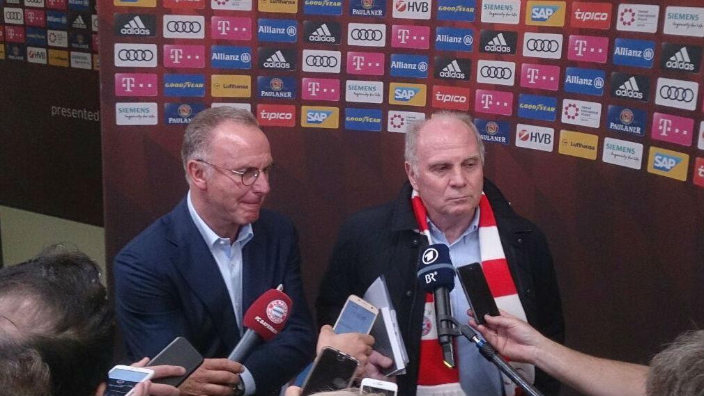 Uli Hoeneß Karl-Heinz Rummenigge
