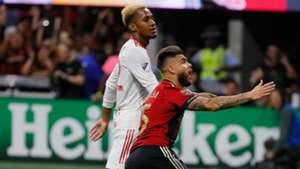 Hector Villalba Atlanta United New York Red Bulls MLS playoffs 2018