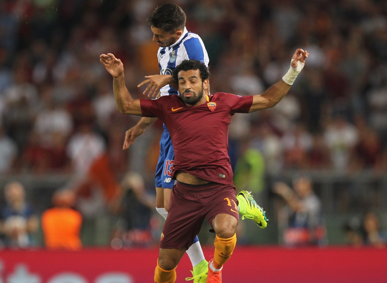 Mohamed Salah Roma Alex Telles Porto Champions League 2016-17