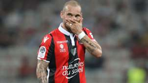 Wesley Sneijder Nice Guingamp Ligue 1 19082017