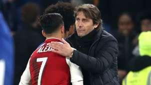 Alexis Sanchez Antonio Conte Arsenal Chelsea