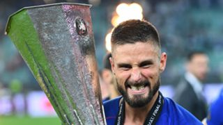 Olivier Giroud Chelsea Europa League final 2018-19