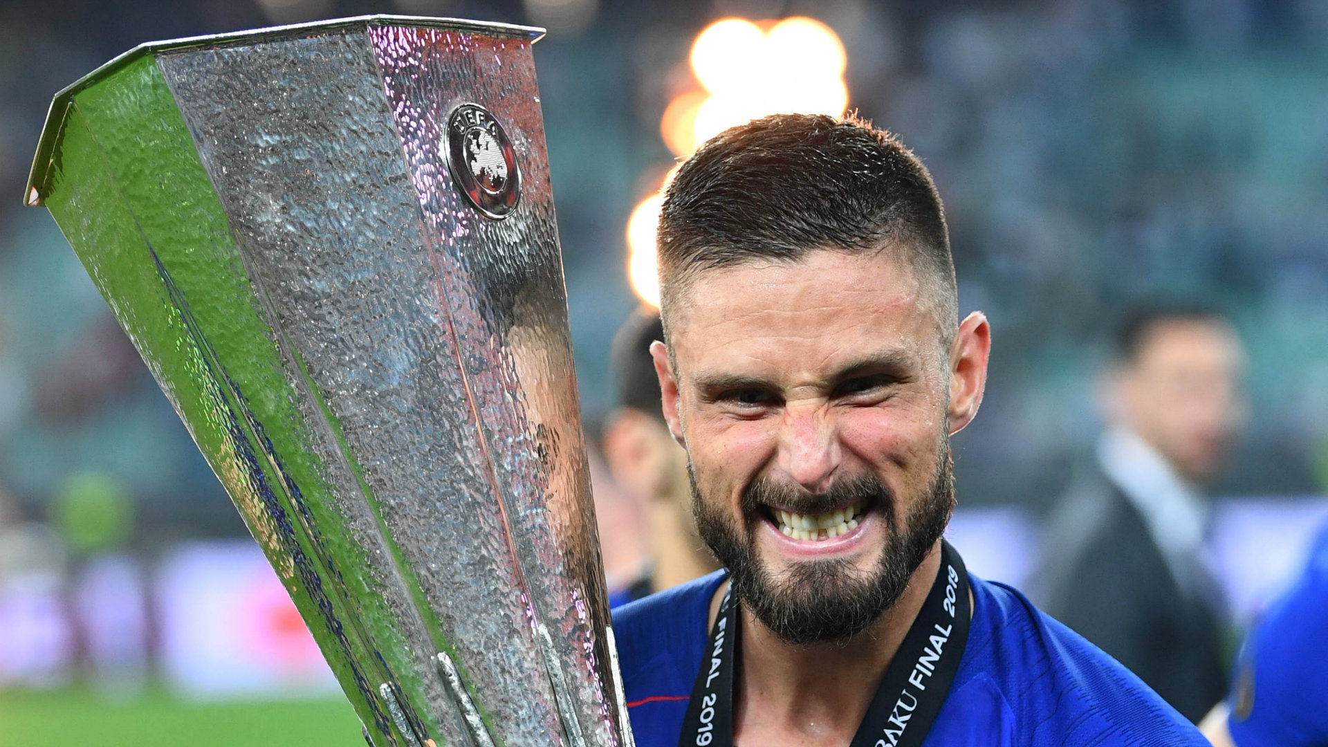 Olivier Giroud Chelsea Europa League final 2018-19