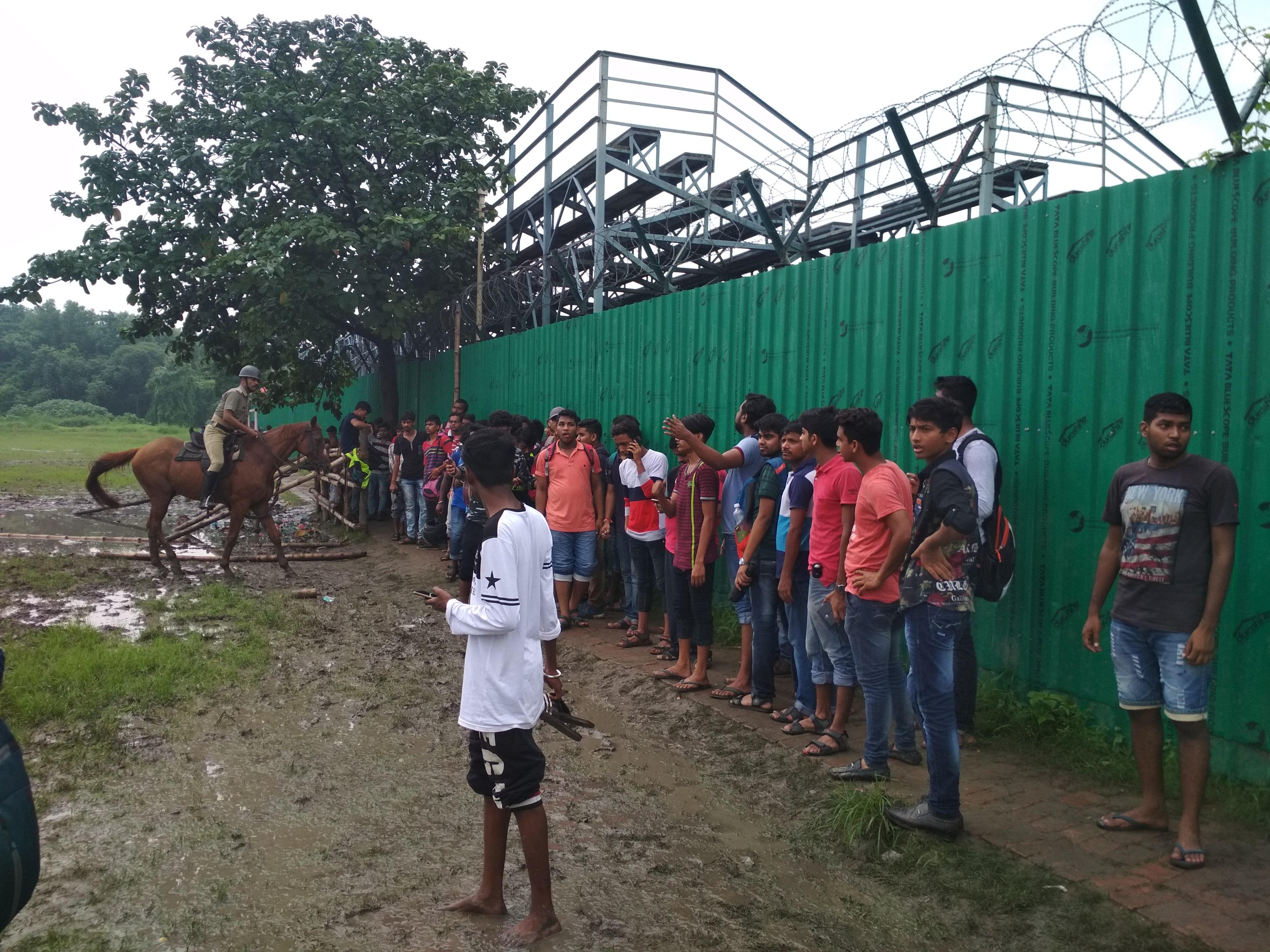 Mohun Bagan ticket line
