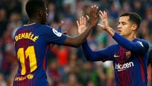 Dembele Coutinho Barcelona Villarreal LaLiga