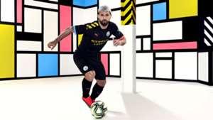 Manchester City kit 2019-20 away Sergio Aguero