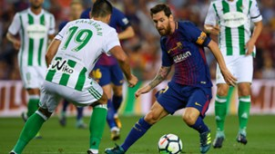 FC Barcelona Real Betis Lionel Messi 08202017