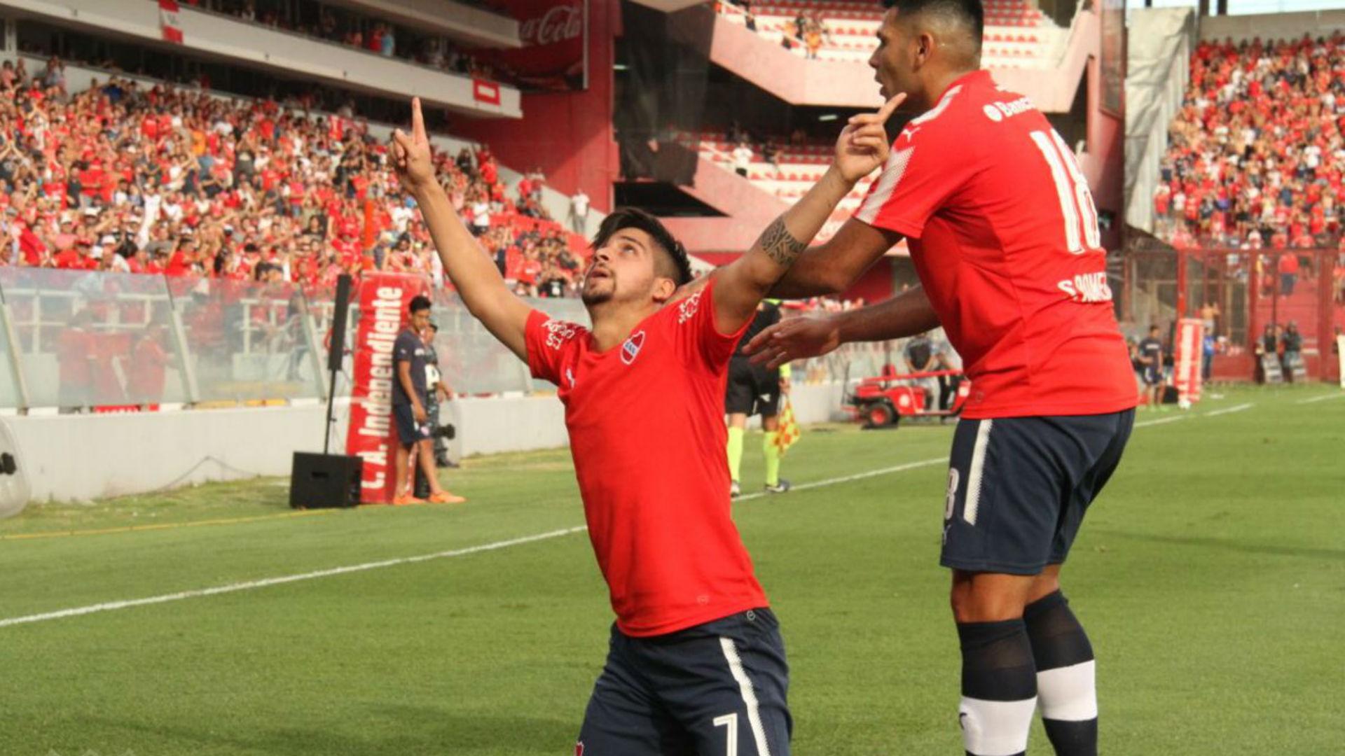 Gaibor tuvo un mal debut copero con Independiente de Avellaneda