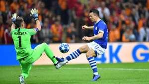 Fernando Muslera Yevgen Konoplyanka Galatasaray Schalke UCL 10242018