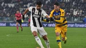 Sami Khedira Davide Bastoni Juventus Parma Serie A