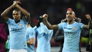 Fernandinho Fabian Delph Manchester United Manchester City Premier League 10122017