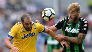 Gonzalo Higuain Letschert Sassuolo Juventus Serie A