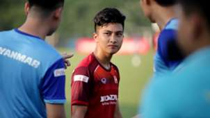 Martin Lo U23 Vietnam Training Session at Viet Tri Stadium