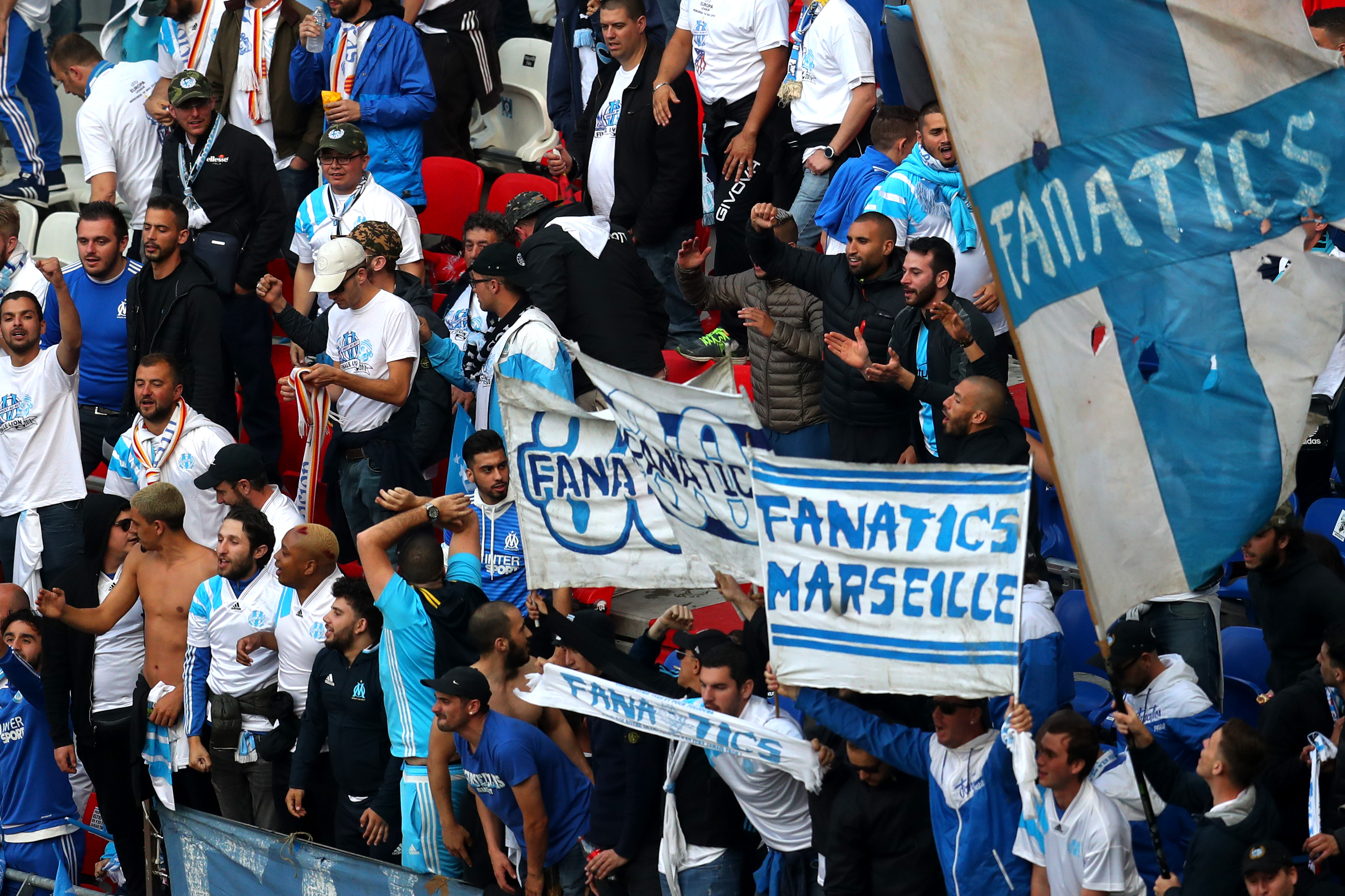 UEL Fans Marseille