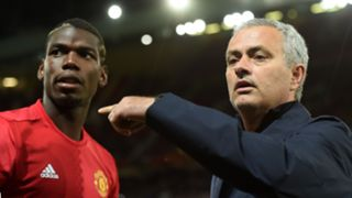 Paul Pogba Jose Mourinho Manchester United 2016