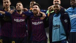 Barcelona celebrate 2018-19