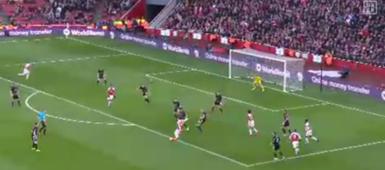 Mesut Ozil Arsenal Burnley