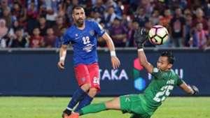 Mohammed Ghaddar, Johor Darul Ta'zim, 02/07/2017