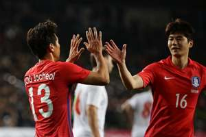 Koo Ja-cheol and Ki Sung-yueng