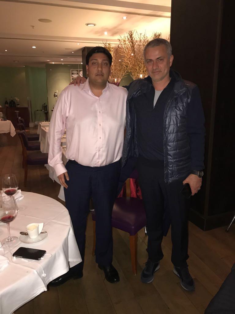 Rahul Mehta and Jose Mourinho