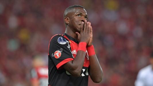 Vinicius Junior Flamengo Independiente Copa Sudamericana 13122017