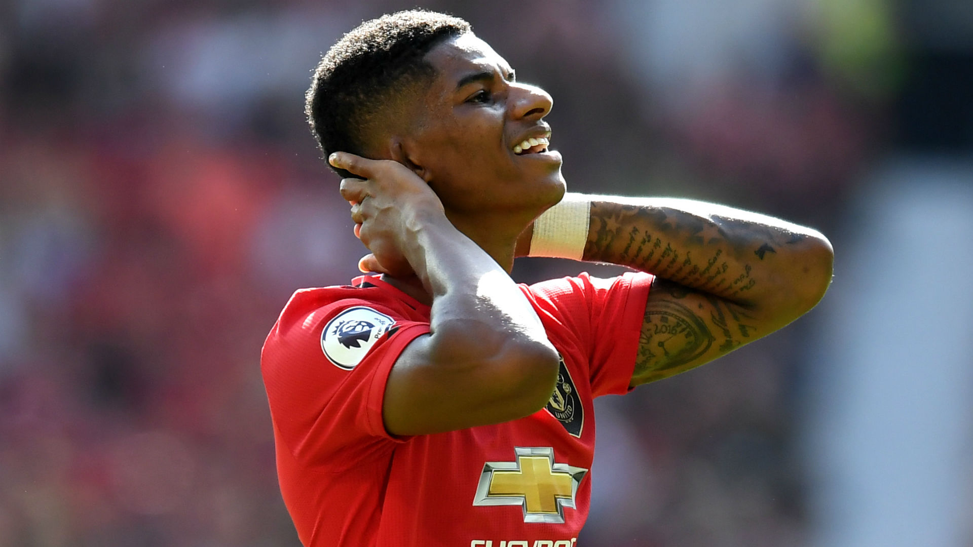 Marcus Rashford, victime aussi d'insultes racistes — Manchester United