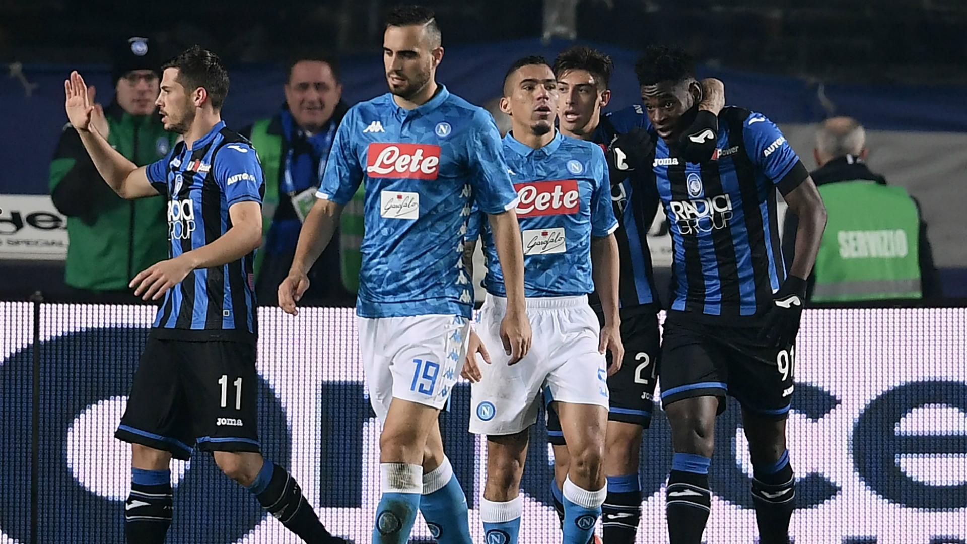 Duvan Zapata Nikola Maksimovic Atalanta Napoli Serie A