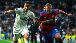 Lucas Vazquez David Limbersky Real Madrid Viktoria Plzen UCL 23102018