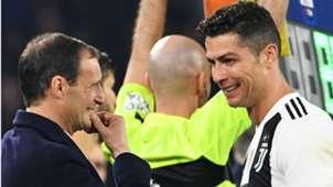 Allegri Cristiano Ronaldo Juventus Serie A